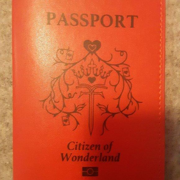 FairyLoot Wonderland Passport Cover